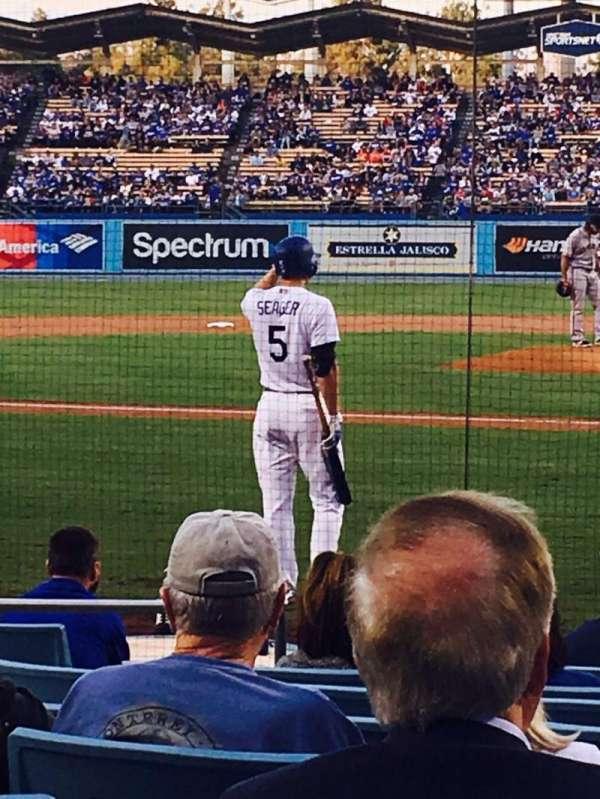 Dodger Stadium, Abschnitt: 7FD, Reihe: B, Platz: 4