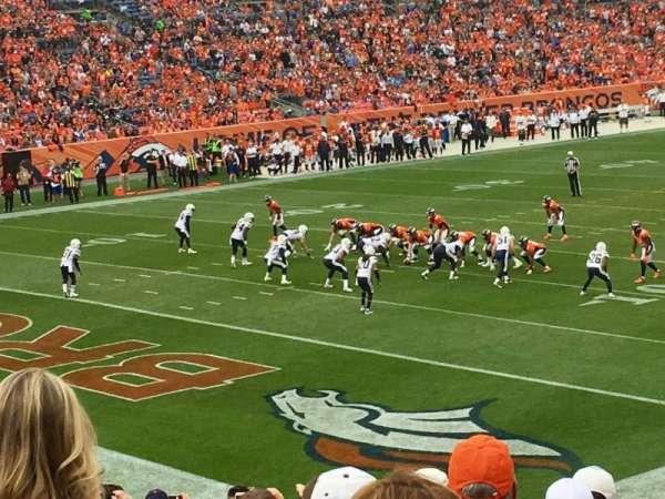 Broncos Stadium at Mile High, Abschnitt: 128, Reihe: 25, Platz: 37