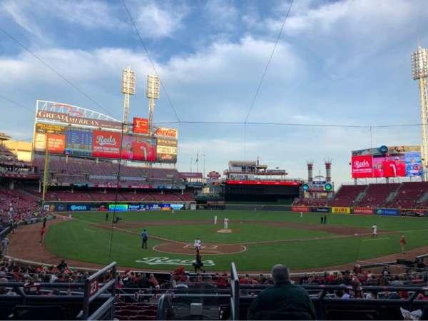 Great American Ball Park, Abschnitt: 124, Reihe: A, Platz: 7