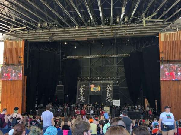 Merriweather Post Pavilion, Abschnitt: GA