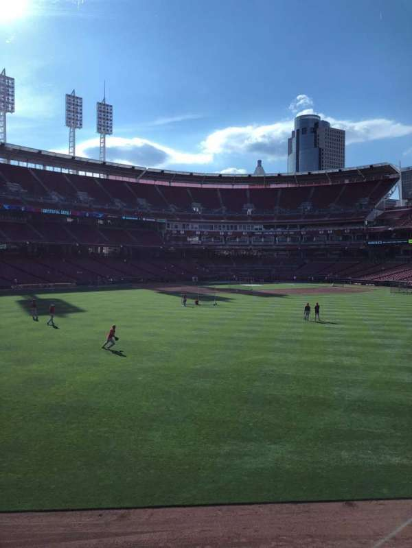 Great American Ball Park, Abschnitt: CFPAV, Reihe: A, Platz: 24