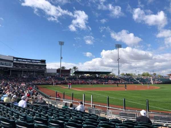 Goodyear Ballpark, Abschnitt: 211, Reihe: M, Platz: 2