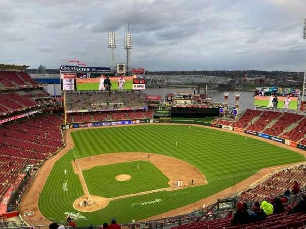 Great American Ball Park, Bereich: 527, Reihe: P, Platz: 17