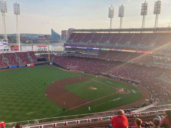 Great American Ball Park, Bereich: 514, Reihe: G, Platz: 18