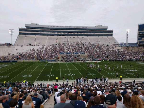 Beaver Stadium, Abschnitt: WF, Reihe: 27, Platz: 1