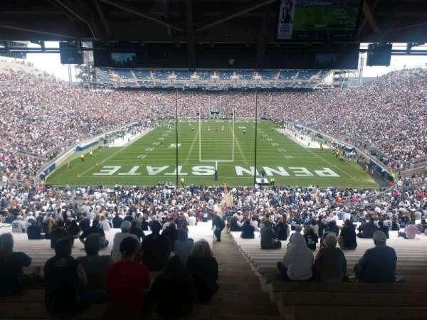 Beaver Stadium, Abschnitt: NF, Reihe: 60, Platz: 2