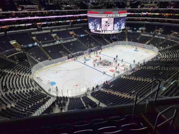Staples Center, Bereich: 322, Reihe: 5, Platz: 5