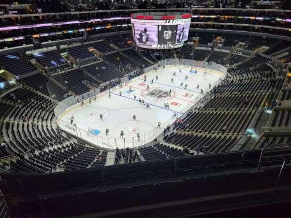 Staples Center, Bereich: 323, Reihe: 7, Platz: 15