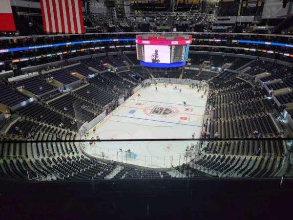 Staples Center, Bereich: 325, Reihe: 6, Platz: 14