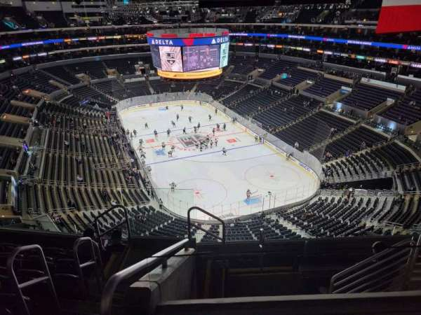 Staples Center, Bereich: 328, Reihe: 7, Platz: 25