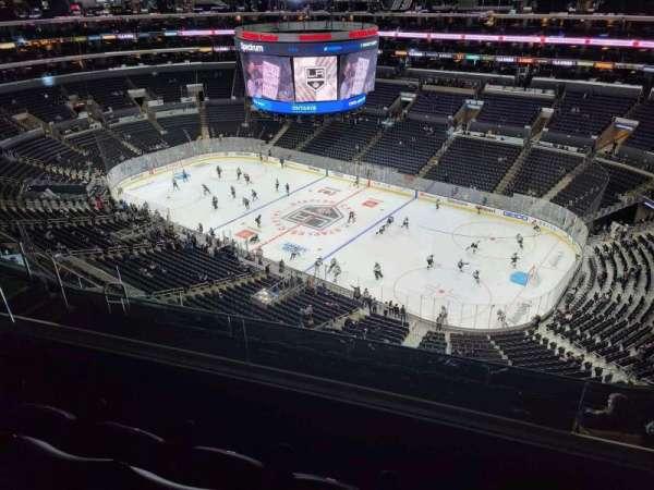 Staples Center, Bereich: 332, Reihe: 8, Platz: 10