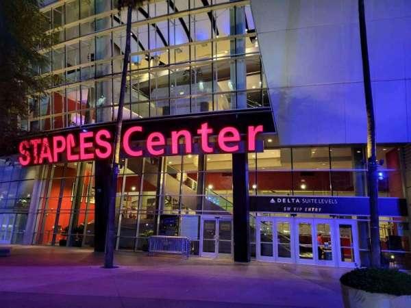 Staples Center, Bereich: SW VIP Entry