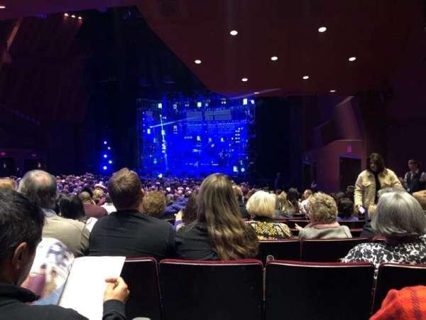 Segerstrom Hall, Abschnitt: Orchestra, Reihe: X, Platz: 8