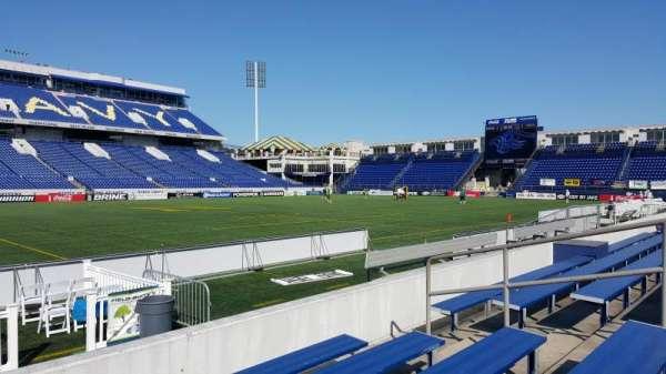 Navy-Marine Corps Memorial Stadium, Abschnitt: 6, Reihe: 5, Platz: bleacher