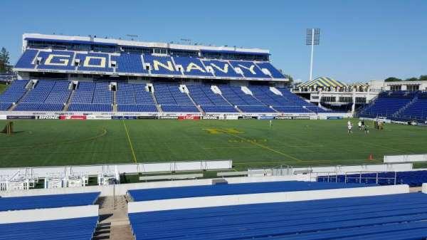 Navy-Marine Corps Memorial Stadium, Abschnitt: 6, Reihe: 15, Platz: bleachers