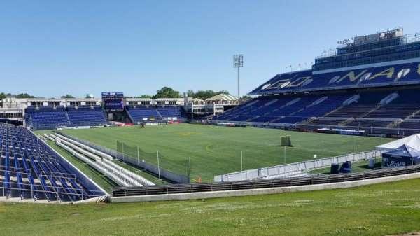 Navy-Marine Corps Memorial Stadium, Abschnitt: D, Reihe: 5, Platz: 35