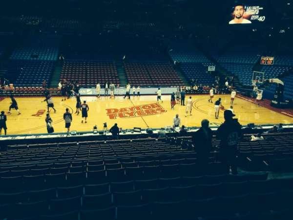 University Of Dayton Arena, Abschnitt: 219, Reihe: H, Platz: 8