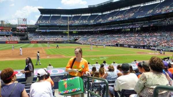 Turner Field, Abschnitt: 114L, Reihe: 13, Platz: 101
