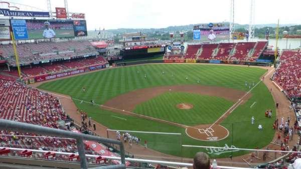 Great American Ball Park, Abschnitt: 422, Reihe: D, Platz: 15