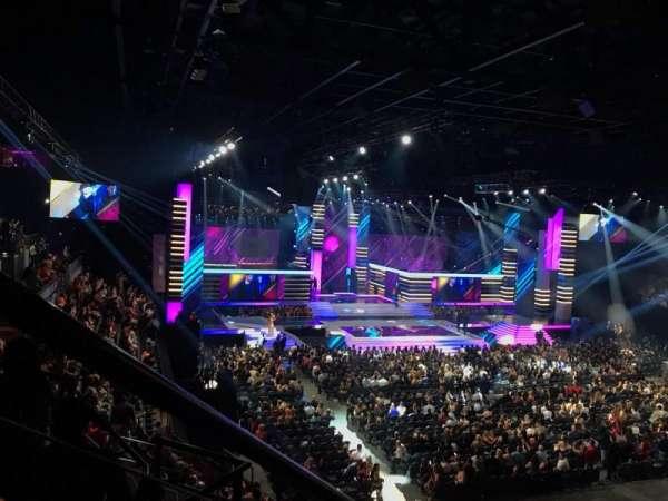Mandalay Bay Events Center, Abschnitt: 211, Reihe: E, Platz: 7
