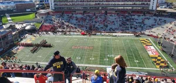 Maryland Stadium, Abschnitt: 308, Reihe: Z, Platz: 2