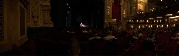 Nederlander Theatre (Chicago), Abschnitt: Orchestra L, Reihe: G, Platz: 19