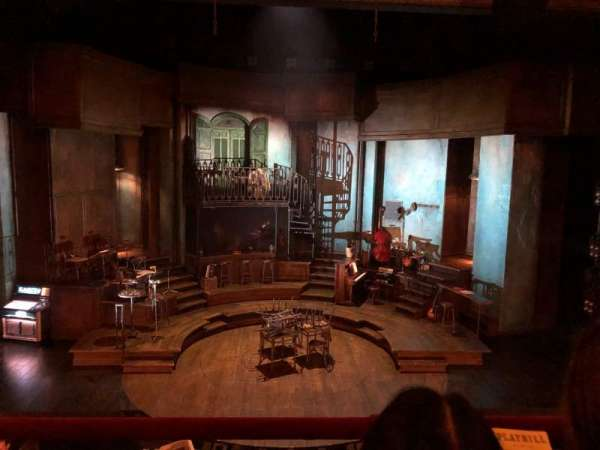 Walter Kerr Theatre, Abschnitt: Mezzanine C, Reihe: 2, Platz: 108