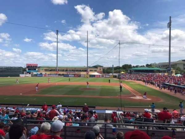 Roger Dean Chevrolet Stadium, Abschnitt: 210