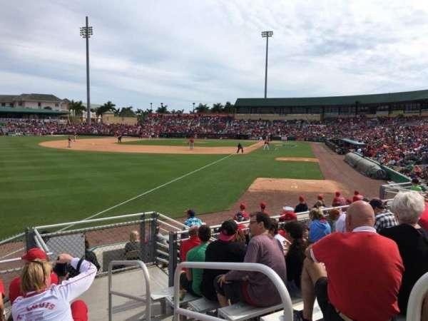 Roger Dean Chevrolet Stadium, Abschnitt: Bleachers