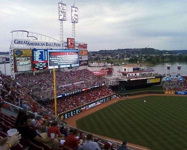 Great American Ball Park, Abschnitt: 516, Reihe: 1, Platz: 4