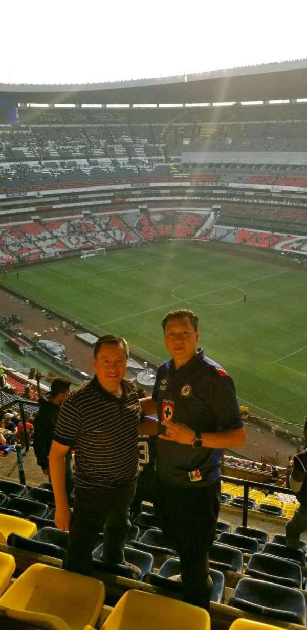 Estadio Azteca, Abschnitt: 552, Reihe: j, Platz: 20