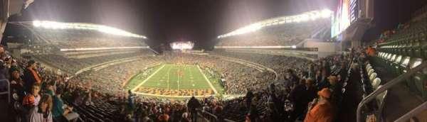 Paul Brown Stadium, Bereich: 226, Reihe: 30, Platz: 1