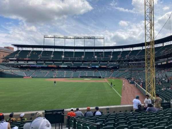 Oriole Park at Camden Yards, Bereich: 76, Reihe: 12, Platz: 1