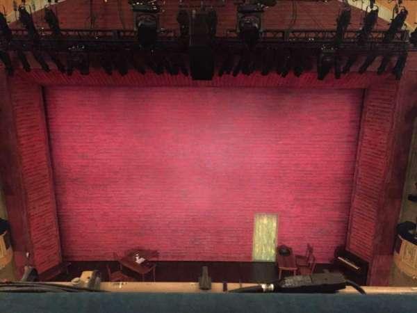 Shubert Theatre, Abschnitt: Balcony Center, Reihe: A, Platz: 107