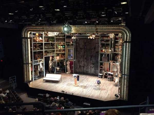 Laura Pels Theatre, Abschnitt: Rear Mezzanine Right, Reihe: CC, Platz: 2