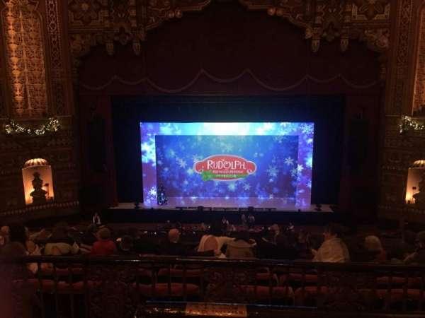 The Fabulous Fox Theatre (St. Louis), Bereich: Lower Balcony 4, Reihe: A, Platz: 102