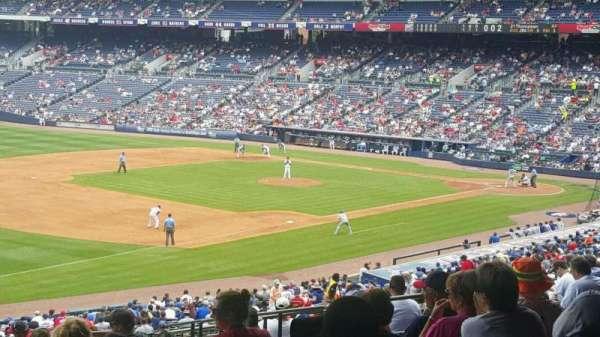 Turner Field, Abschnitt: 224, Reihe: 15, Platz: 110