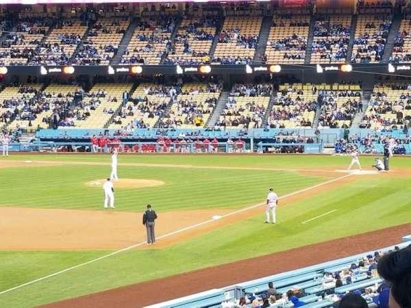 Dodger Stadium, Abschnitt: 157LG, Reihe: G, Platz: 17