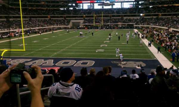 AT&T Stadium, Abschnitt: 121, Reihe: 21, Platz: 28