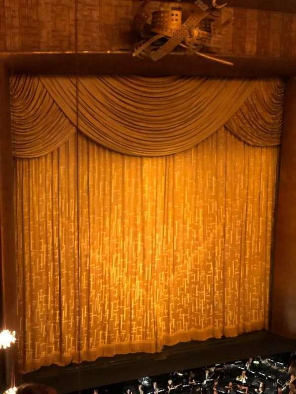 Metropolitan Opera House - Lincoln Center, Abschnitt: Balcony, Reihe: D, Platz: 25
