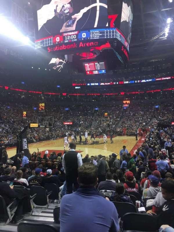 Scotiabank Arena, Abschnitt: 101, Reihe: 5, Platz: 9