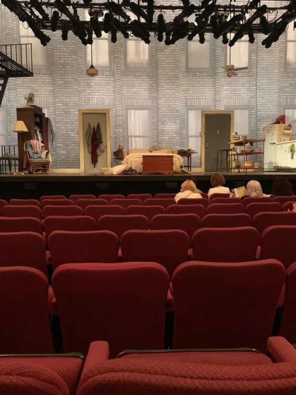 Broadhurst Theatre, Abschnitt: Orch, Reihe: G, Platz: 107