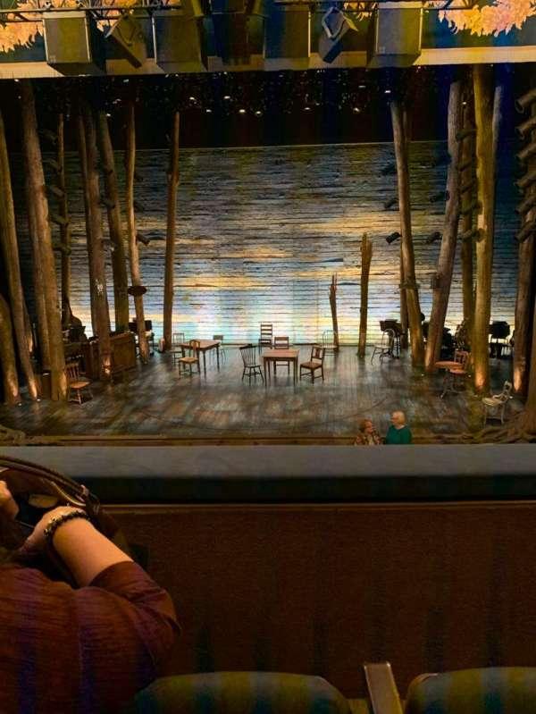 Gerald Schoenfeld Theatre, Abschnitt: Mezzanine C, Reihe: B, Platz: 109