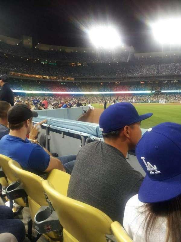 Dodger Stadium, Abschnitt: 48FD, Reihe: A, Platz: 10