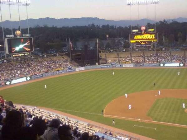 Dodger Stadium, Abschnitt: top deck