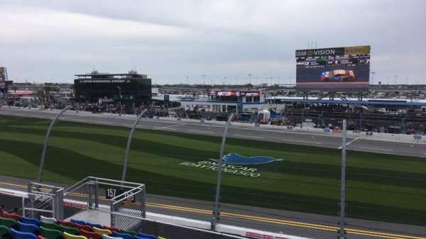Daytona International Speedway, Abschnitt: 158, Reihe: 11, Platz: 11