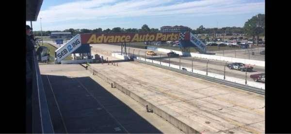 Sebring International Raceway, Abschnitt: Fangio Terrace