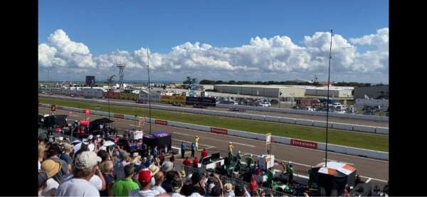 Indy Car Road Coarse St. Petersburg, Bereich: Grand Stand 7, Reihe: 25