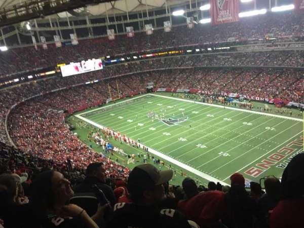 Georgia Dome, Abschnitt: 314, Reihe: 20, Platz: 21