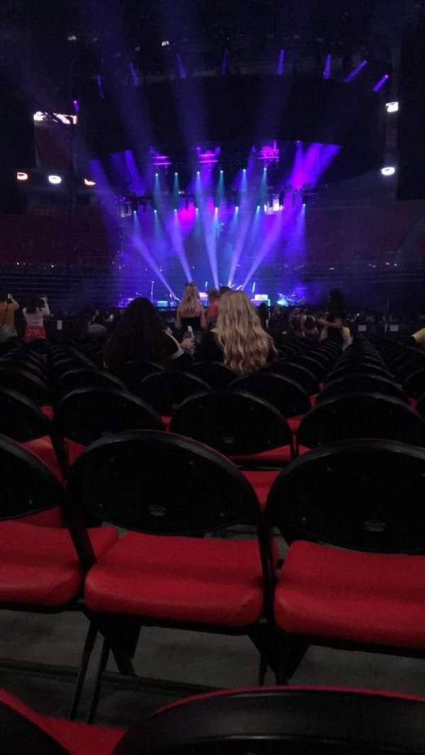 Little Caesars Arena, Abschnitt: 4, Reihe: 12, Platz: 7